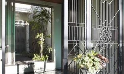 大田区南雪谷 K・H邸 (エントランス・中庭)