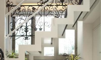 階段|大田区南雪谷 K・H邸