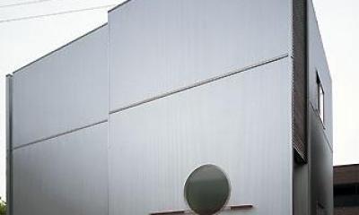 外観-北西側全景(撮影:喜多章)|桶狭間の家