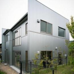 桶狭間の家 (外観-東南側全景(撮影:喜多章))