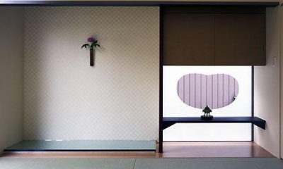 和室(撮影:喜多章) 桶狭間の家