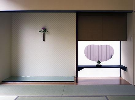 桶狭間の家の部屋 和室(撮影:喜多章)