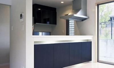キッチン(撮影:喜多章)|桶狭間の家
