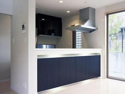 キッチン(撮影:喜多章) (桶狭間の家)
