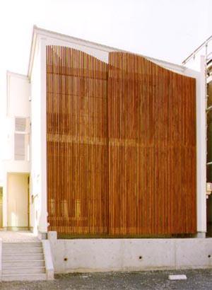 米が瀬町の家の写真 外観-北側全景(撮影:喜多章)