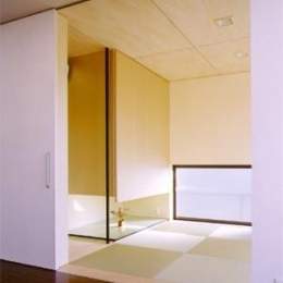 米が瀬町の家 (和室(撮影:喜多章))