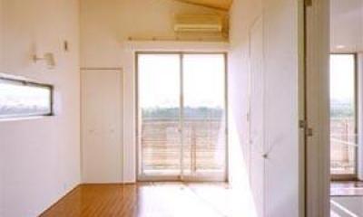 米が瀬町の家 (子供部屋(撮影:喜多章))
