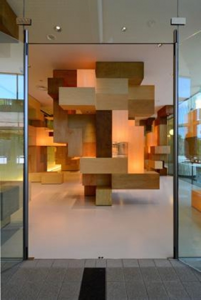 JAISTギャラリー(松田達建築設計事務所との共同設計)) (ギャラリー入口)