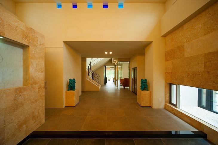 宮古の住宅1 (玄関ホール)