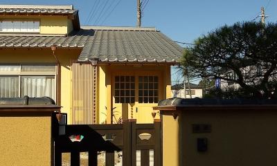 門 平屋 純和風スタイル 幸せエコ住宅
