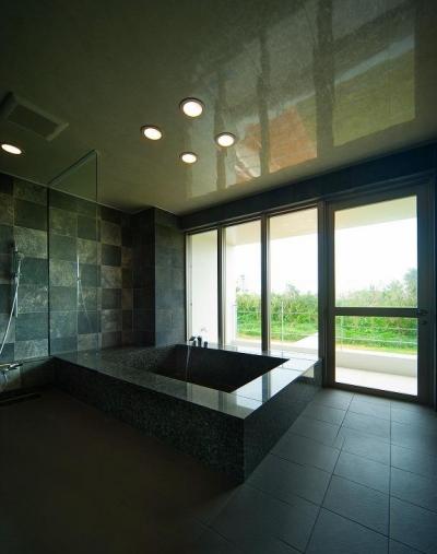 浴室 (宮古の住宅1)