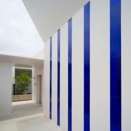 浦添の住宅2 (外壁)