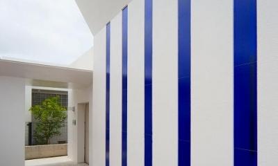 外壁|浦添の住宅2