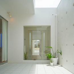 浦添の住宅2 (中庭)