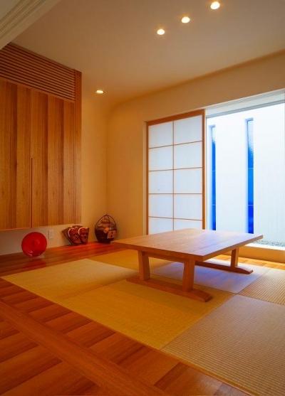 浦添の住宅2 (和室)