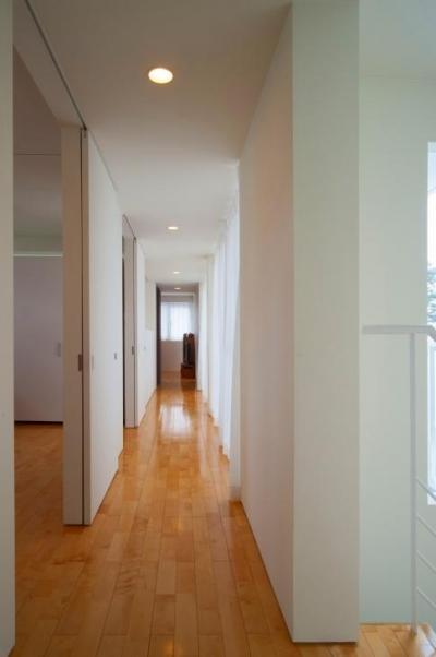 廊下 (浦添の住宅2)