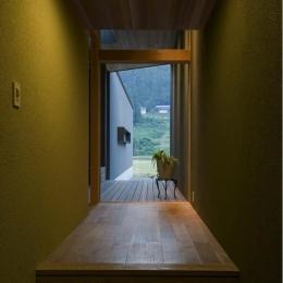 鮎立の家 (玄関)