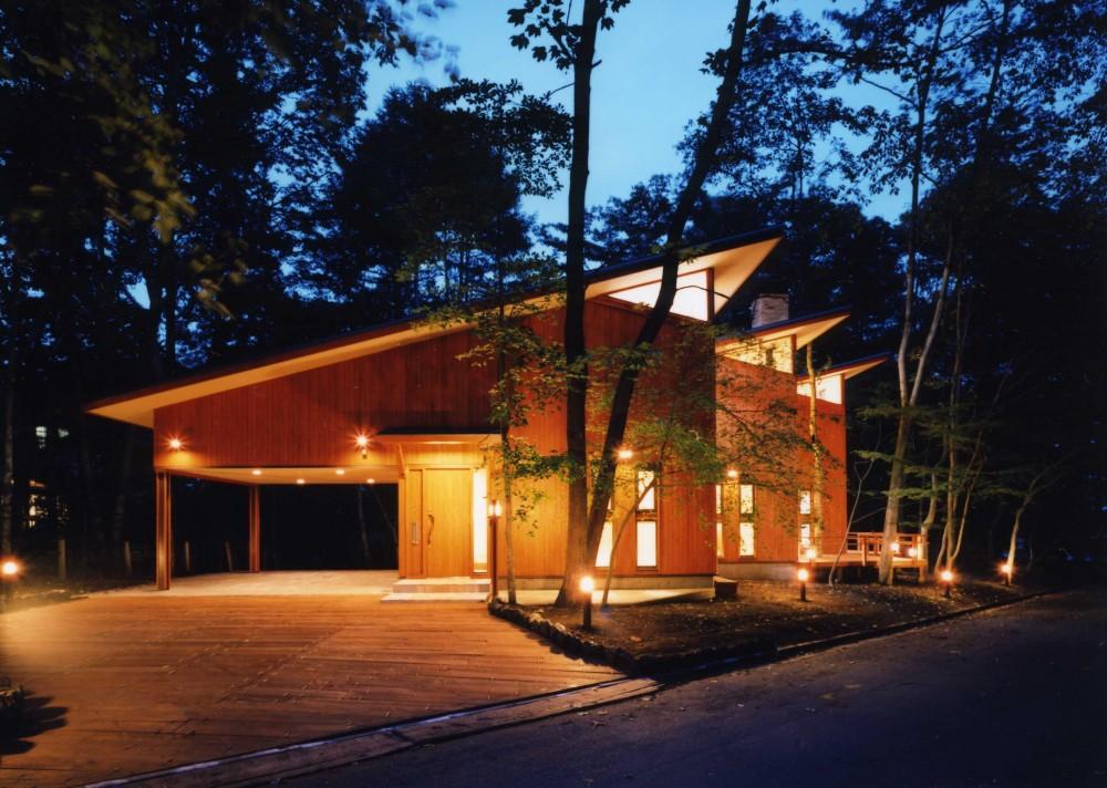 木立の家 (外観)