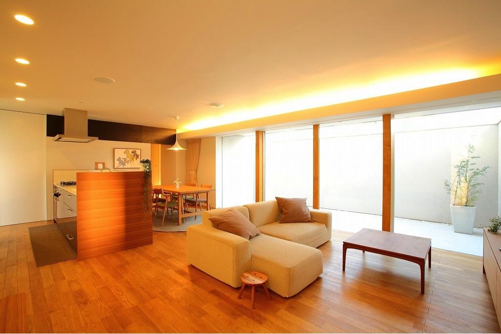 清洲の家の部屋 明るいLDK-1