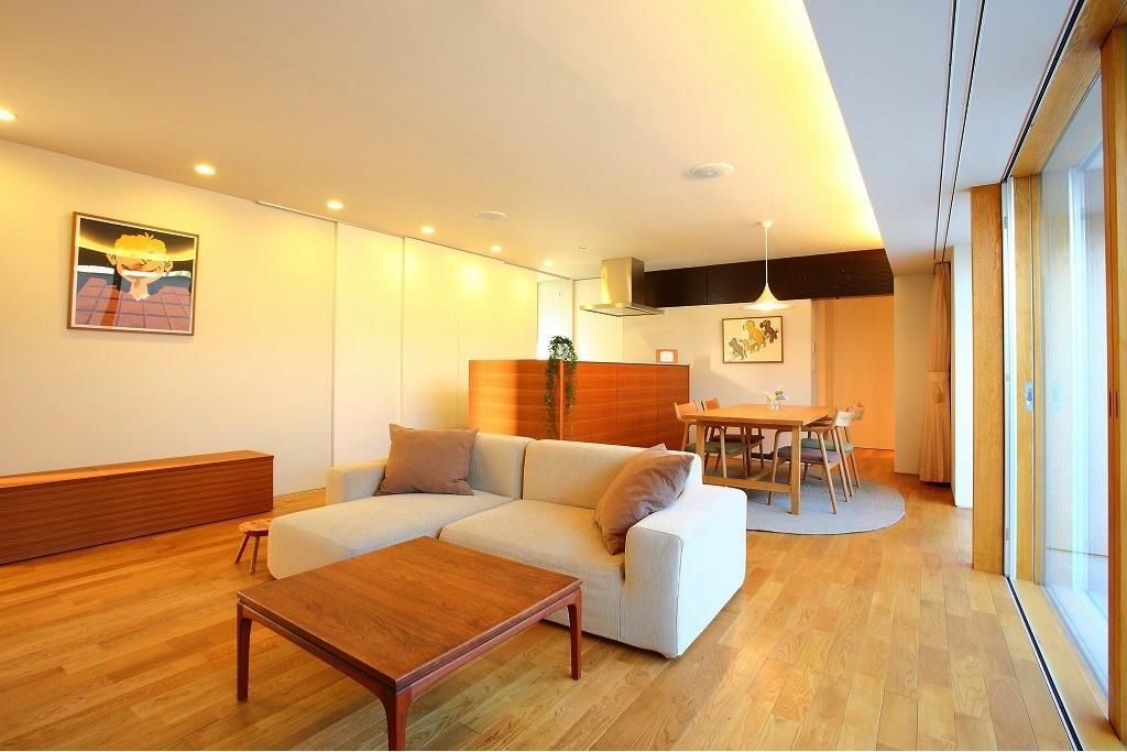 清洲の家の部屋 明るいLDK-2