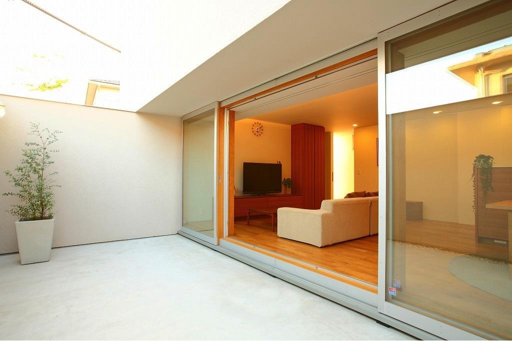 清洲の家の部屋 テラス