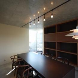 呉羽山を望む事務所兼住宅 (打ち合わせ室2)