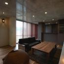 呉羽山を望む事務所兼住宅