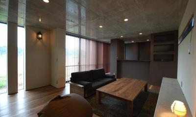 LDK-2|呉羽山を望む事務所兼住宅