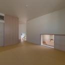 尾張旭の住宅の写真 中2階和室(撮影:谷川ヒロシ)