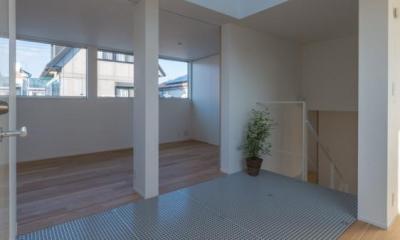 尾張旭の住宅 (階段ホール(撮影:谷川ヒロシ))