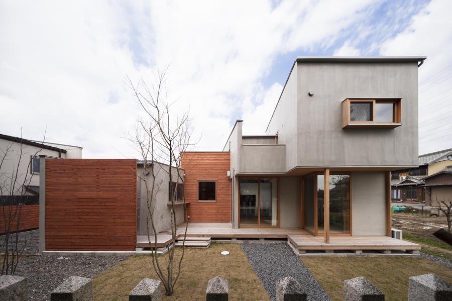 東員の住宅の写真 外観1(撮影:新建築写真部)