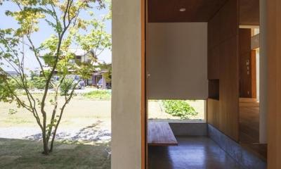 玄関(撮影:多田ユウコ)|東員の住宅