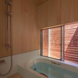 東員の住宅 (浴室(撮影:多田ユウコ))