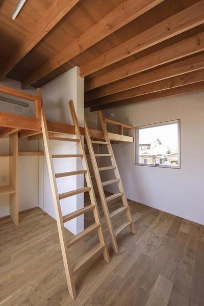子供部屋(撮影:多田ユウコ) (東員の住宅)
