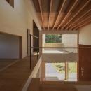 東員の住宅の写真 階段ホール(撮影:多田ユウコ)