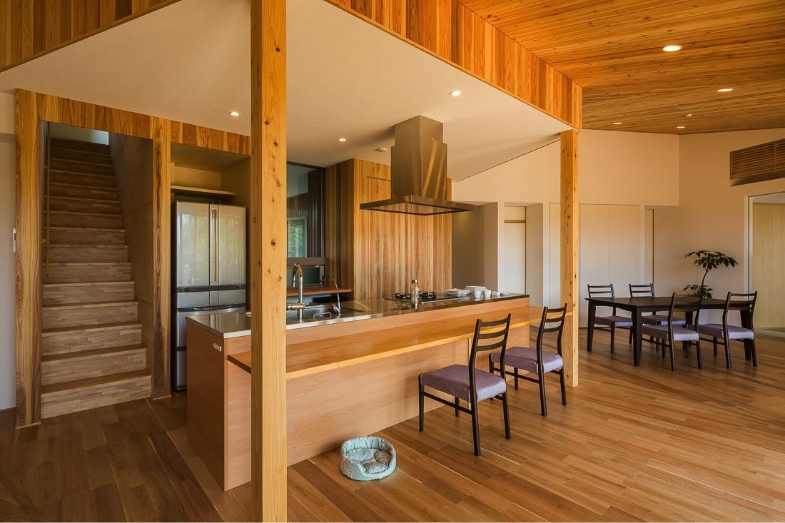 緑苑の家の部屋 アイランドキッチン