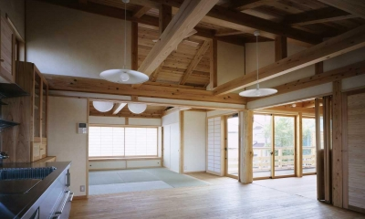 シニア世代の木の家