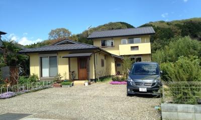 二世帯の木の家