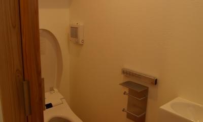 薪ストーブの木の家 スローライフ (トイレ)
