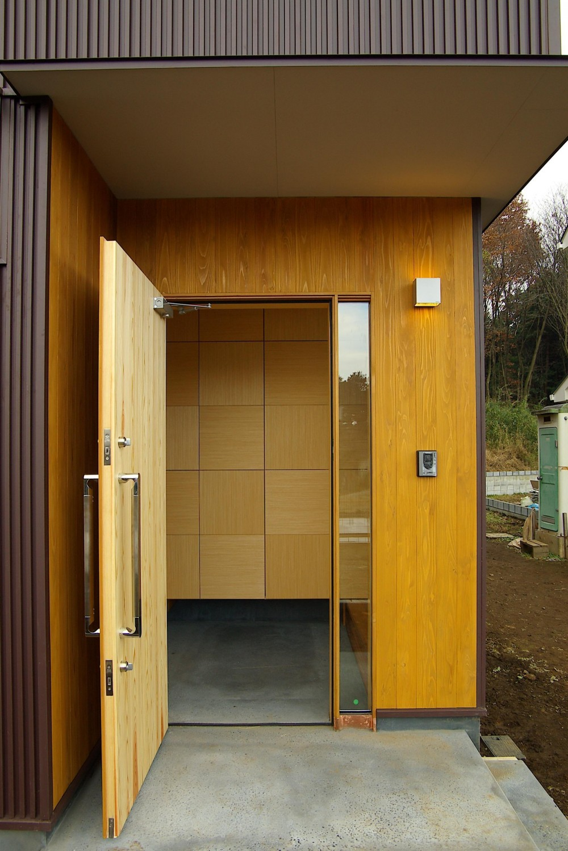 薪ストーブの木の家 スローライフ (玄関 ポーチ)