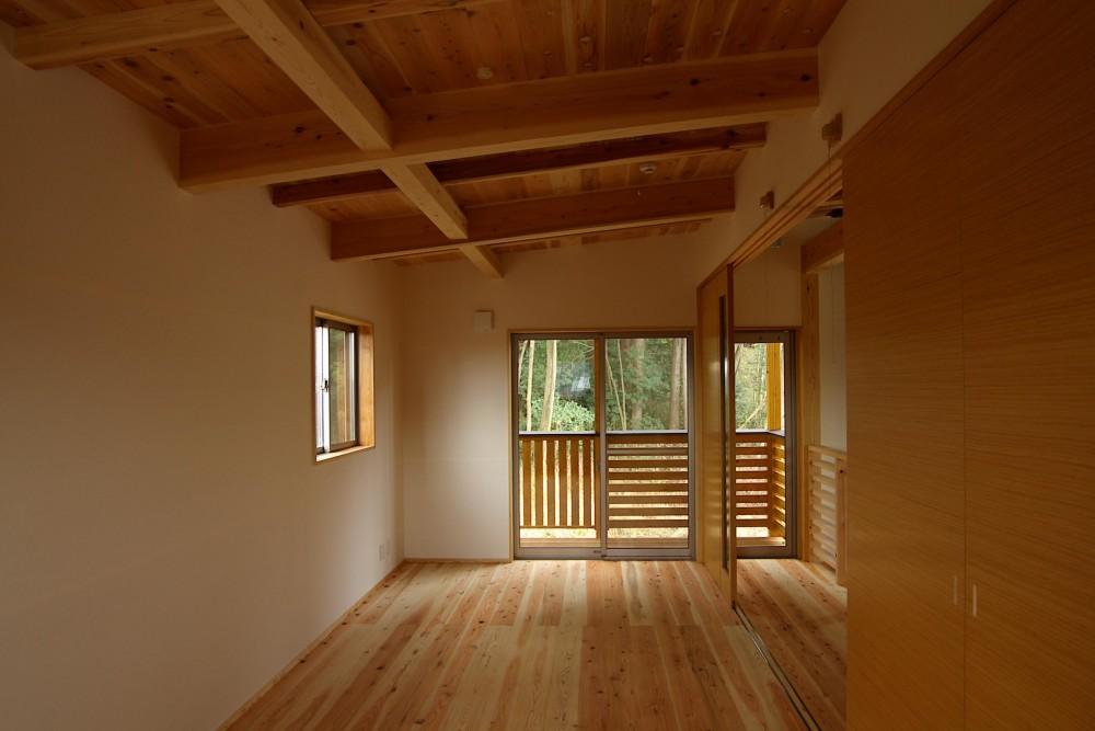 薪ストーブの木の家 スローライフ (寝室)