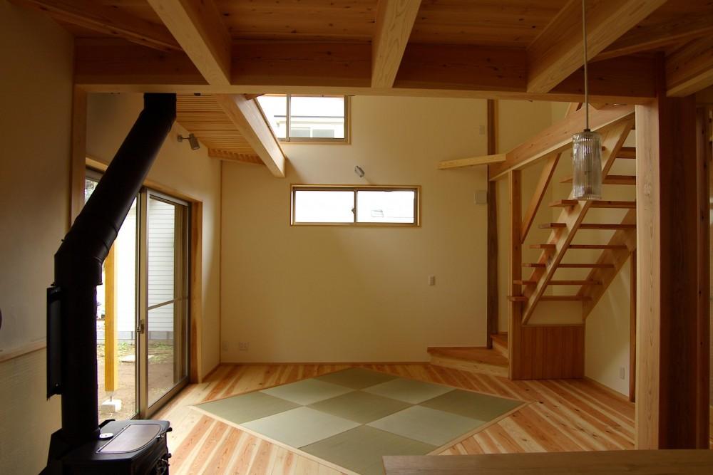 建築家:大沢宏「薪ストーブの木の家 スローライフ」