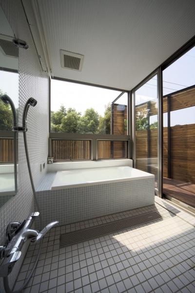 都筑の家 (浴室)