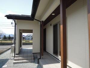 house-MSHの部屋 玄関ポーチ・テラス