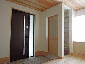 house-MSHの部屋 玄関