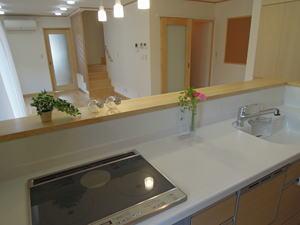 house-MSHの部屋 キッチンからの眺め