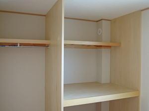 house-MSHの部屋 2階ウォークインクローゼット