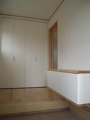 house-MTHの部屋 大容量収納のある玄関