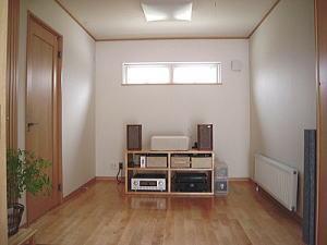 house-MTHの部屋 オーディオルーム