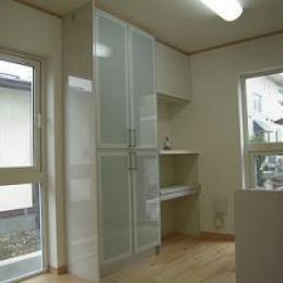 明るいキッチン-1 (house-MTH)